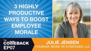 3 Highly Productive Ways to Boost Employee Morale