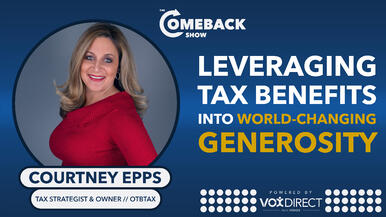 Leveraging Tax Benefits into World-changing Generosity